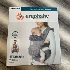 { ErgoBaby } Omni 360 Baby Carrier All in One